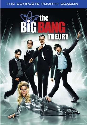The Big Bang Theory: The Complete Fourth Season 883929163496