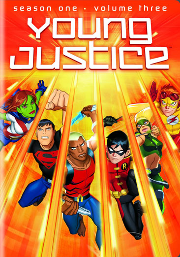 Young Justice: Season 1, Volume 3 883929177523