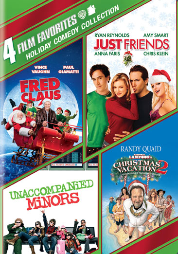 4 Film Favorites: Holiday Comedy Collection 883929198689