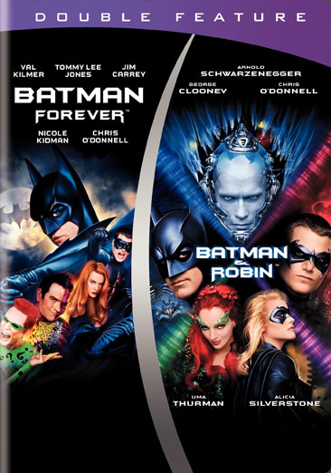 Batman Forever / Batman & Robin 883929203260