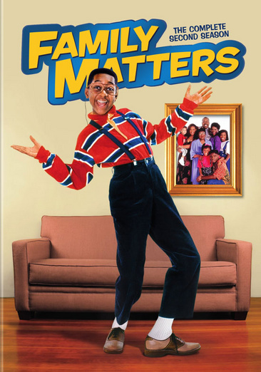 Family Matters: The Complete Second Season 883929230471