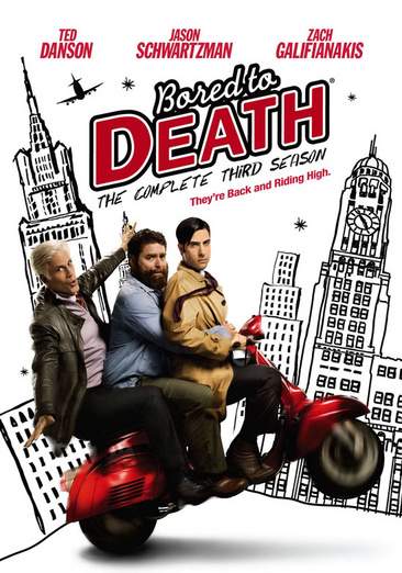 Bored to Death: The Complete Third Season 883929233601