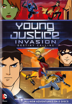Young Justice Invasion: Destiny Calling: Season 2 Part 1 883929250721