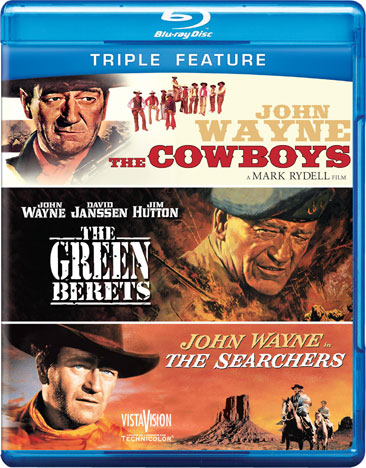 The Cowboys / Green Berets / The Searchers 883929251889