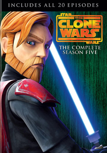 Star Wars The Clone Wars: The Complete Season Five 883929261703