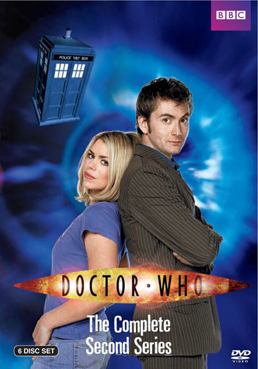 Doctor Who: The Complete Second Series 883929264896