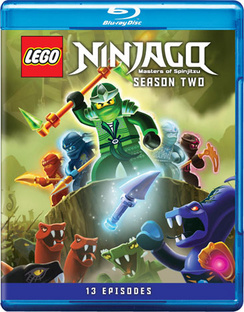 Lego Ninjago: Masters of Spinjitzu Season Two 883929297771
