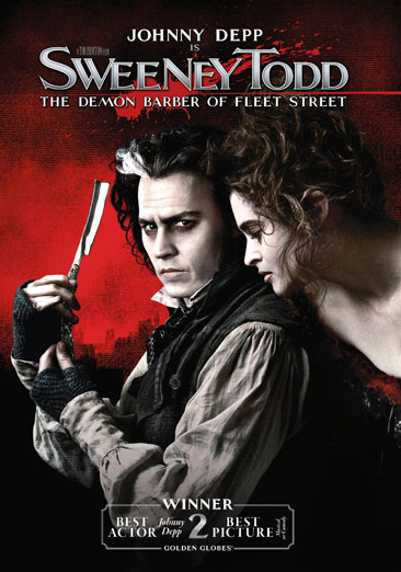 Sweeney Todd: The Demon Barber of Fleet Street 883929304912