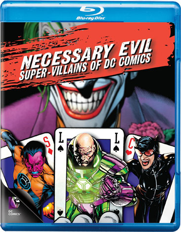 Necessary Evil: The Villains of DC Comics 883929309634