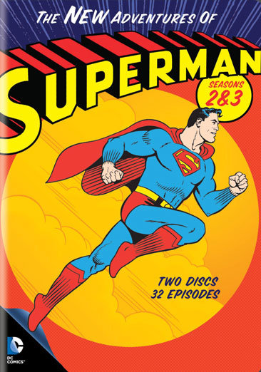 The New Adventures of Superman: Seasons 2 & 3 883929340682
