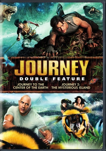 Journey to the Center of the Earth / Journey 2: Mysterious Island 883929351299