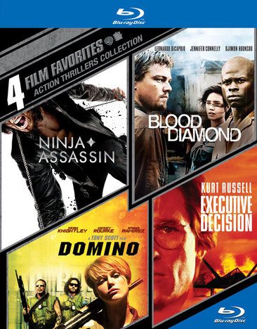 4 Film Favorites: Action Thrillers 883929363148