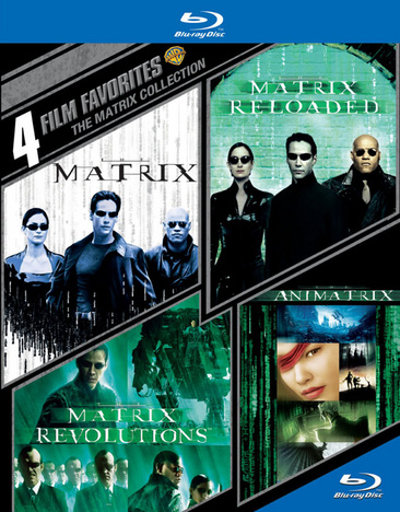 4 Film Favorites: The Matrix Collection 883929365159