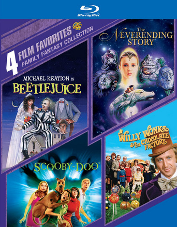 4 Film Favorites: Family Fantasy Collection 883929365241