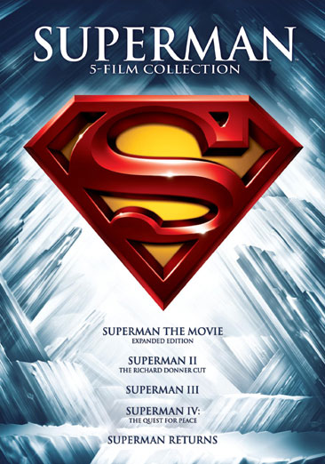 Superman: The Motion Picture Anthology 1978-2006 883929380954