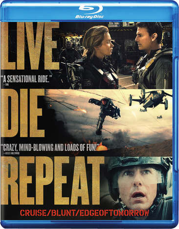 Live Die Repeat: Edge of Tomorrow 883929386819