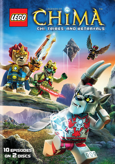 Lego Legends of Chima: Season One, Part Two 883929395682
