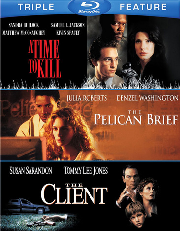 A Time To Kill / The Pelican Brief / The Client 883929406296