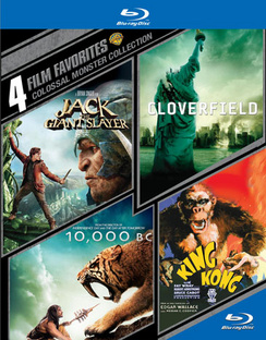 4 Film Favorites: Colossal Monster Collection 883929407125