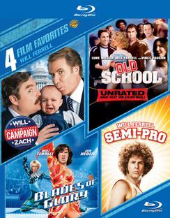 4 Film Favorites: Will Ferrell 883929407132