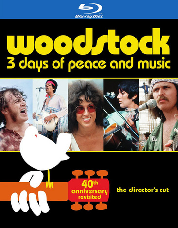 Woodstock: 3 Days of Peace & Music 883929409396