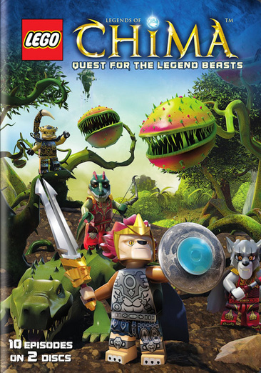 Lego Legends of Chima: Season Two, Part One Quest for Legend Beasts 883929420391