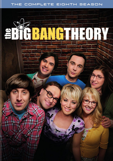 The Big Bang Theory: The Complete Eighth Season 883929454518