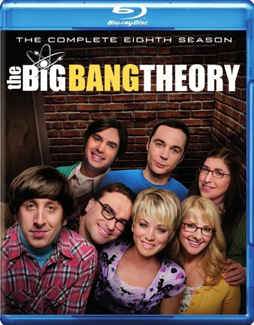 The Big Bang Theory: The Complete Eighth Season 883929454549