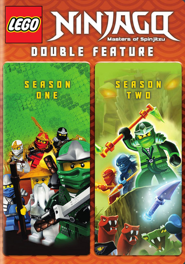 Lego Ninjago: Masters of Spinjitzu Seasons 1 & 2 883929460359