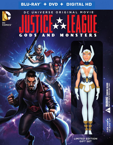 Justice League: Gods & Monsters 883929470860
