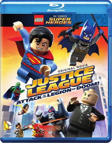 Lego DC Super Heroes: Justice League Attack of the Legion of Doom! 883929477951