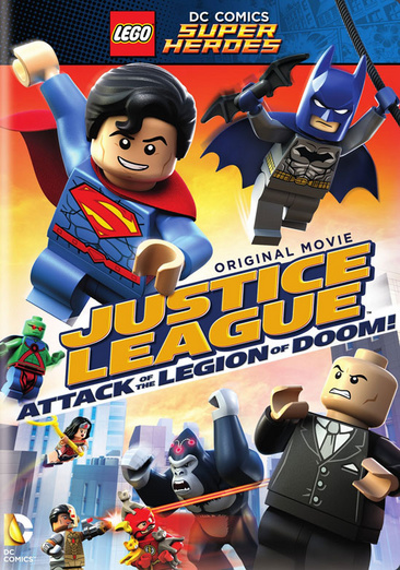 Lego DC Super Heroes: Justice League Attack of the Legion of Doom! 883929477968