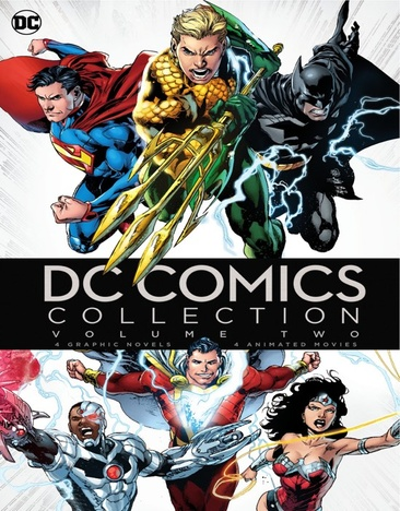 DC Graphic Novel and DCU MFV Uber Collection Volume 2 883929568093