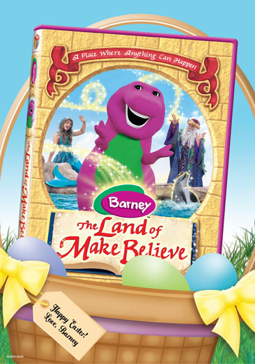 Barney: The Land of Make Believe 884487106321