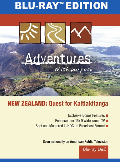 Adventures With Purpose: New Zealand [Blu-Ray]