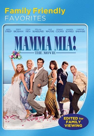 Mamma Mia! The Movie (Family Friendly Version) 025192124938