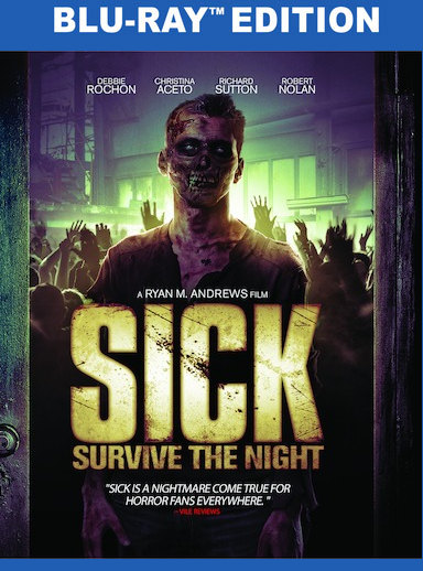 Sick: Survive the Night  [Blu-ray] 191091186978