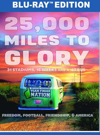 25,000 Miles To Glory [Blu-Ray]