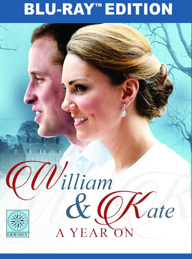 William & Kate: A Year On  [Blu-ray] 191091349151