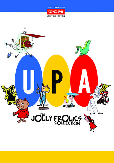 UPA Jolly Frolics DVD [3 disc] 608866795407