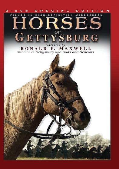 Horses of Gettysburg  (2 DVD Set) 646032042498