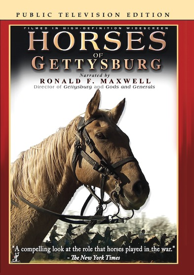 Horses of Gettysburg (Public Television Edition) 646032042597
