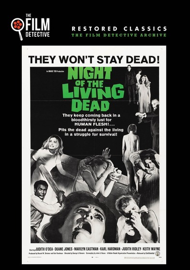 Night of the Living Dead  818522011950
