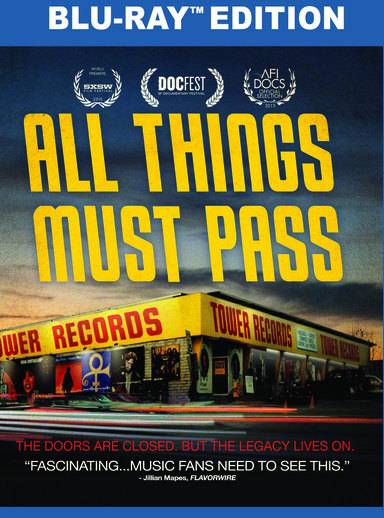 All Things Must Pass: The Rise and Fall of Tower Records (BD) 818522013992