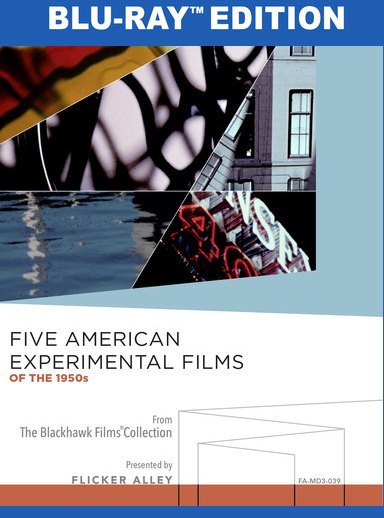 Five Experimental Films of the 1950s [Blu-ray] 818522014975