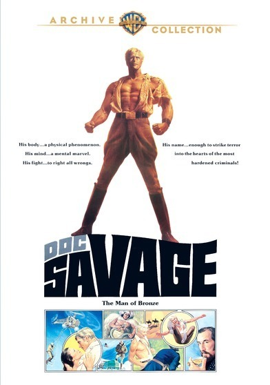 Doc Savage, Man Of Bronze