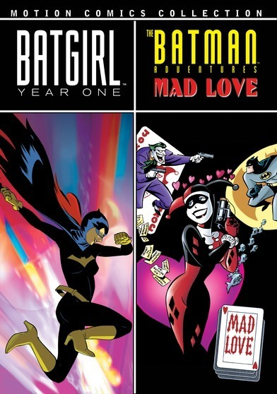 Batgirl: Year One / Batman Adventures: Mad Love (Motion Comics) 883316225721