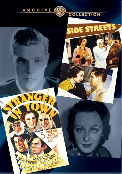 WAC Double Features: Side Streets/Stranger in Town 883316276990