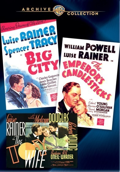 Luise Rainer Collection (Emperor's Candlesticks/Toy Wife/Big City) 883316287675