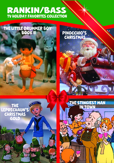 Rankin/Bass TV Holiday Favorites Collection 883316610602